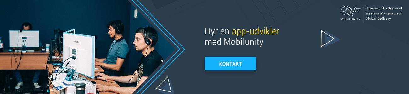 hyr en app udvickler med mobilunity