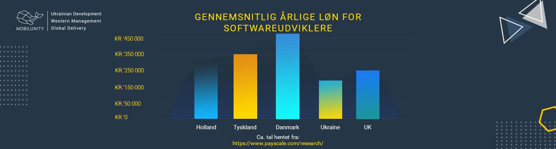 software ingeniør løn