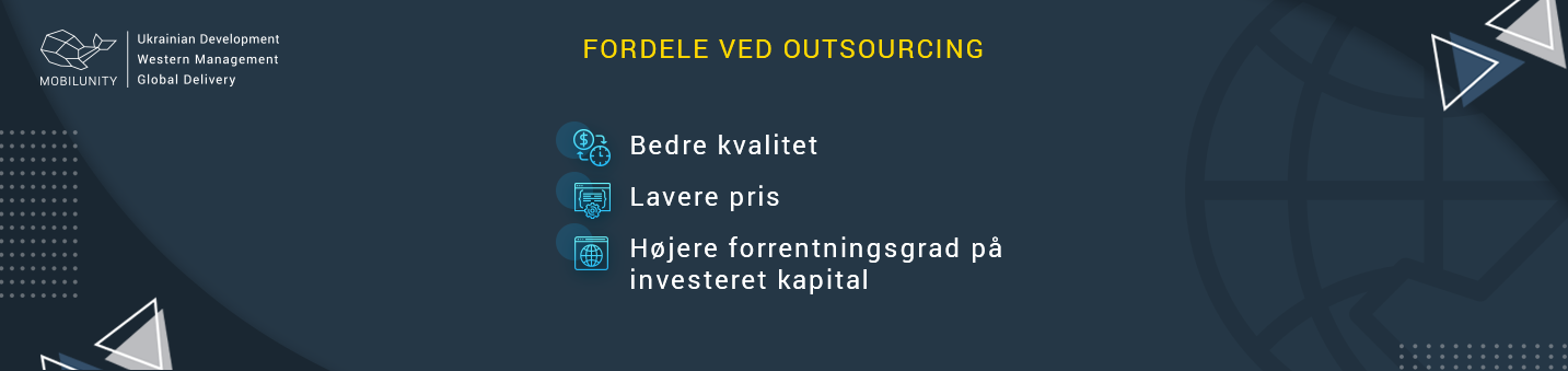 fordele ved outsourcing